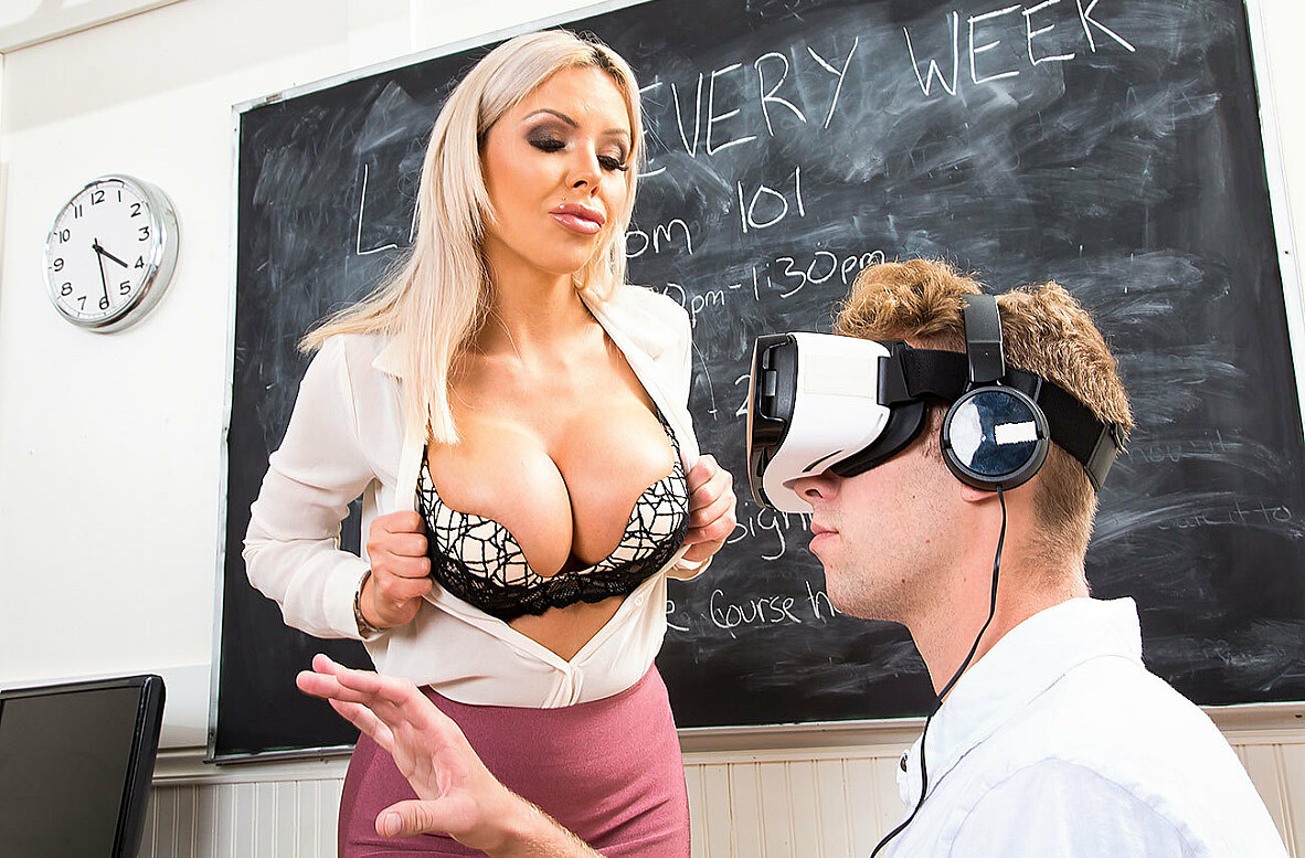 Watch Nina Elle and Dustin Daring 4K video in My First Sex Teacher
