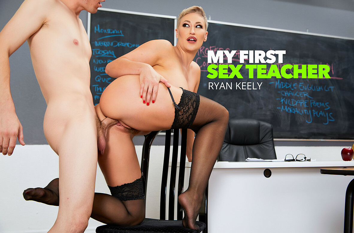 Watch Ryan Keely and Rion King 4K video in My First Sex Teacher