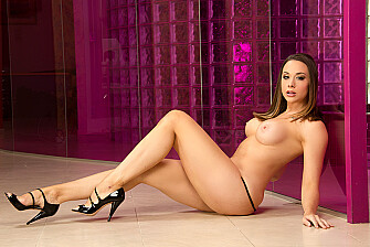 Chanel Preston - Chanel Preston fucking in the bedroom with her tits picture 1