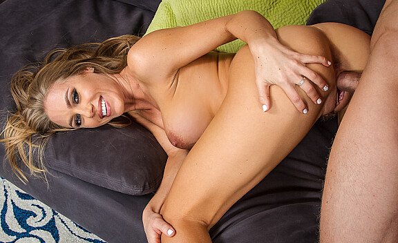 Nicole Aniston fucking in the living room with her tattoos - Sex Position #7