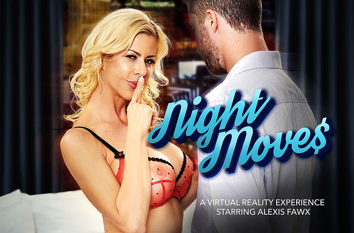 Watch Alexis Fawx and Dylan Snow VR video in Naughty America
