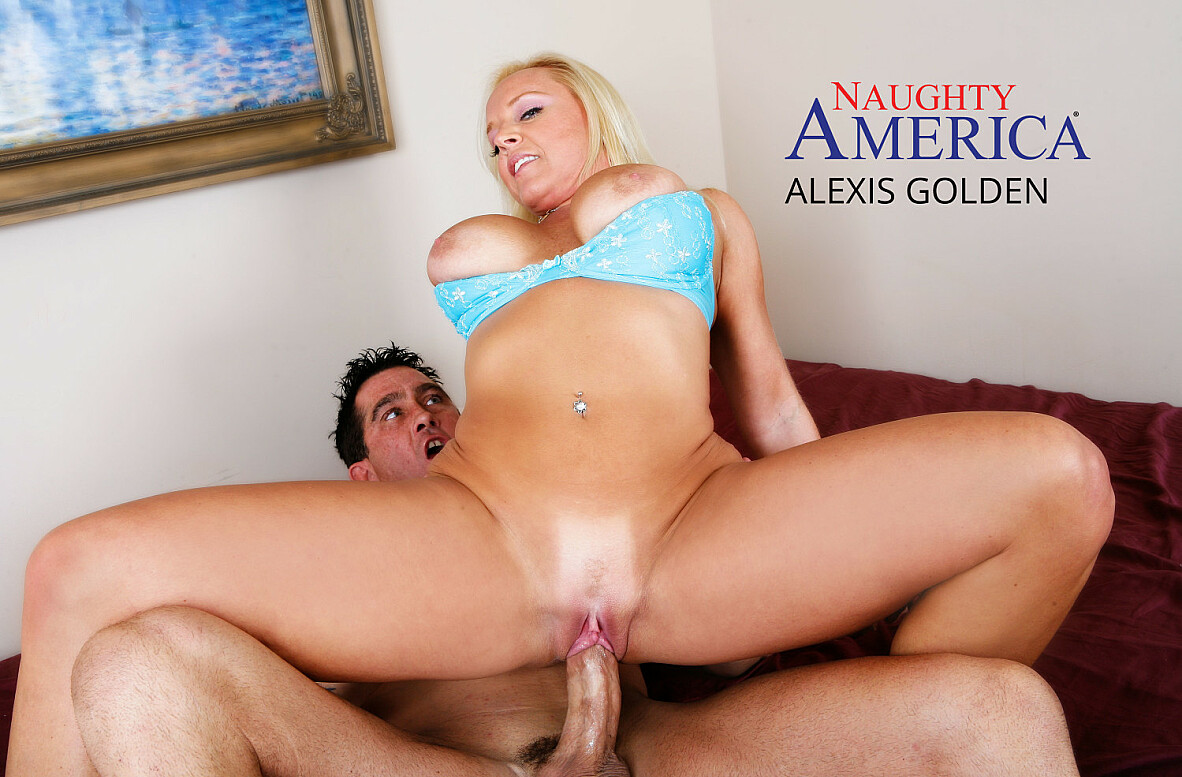 Watch Alexis Golden and Billy Glide American video in Naughty America