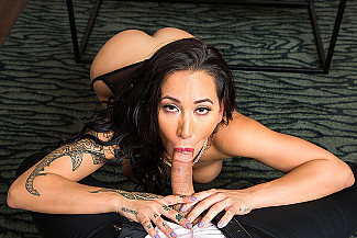 Amia Miley Rides Your Cock  - Sex Position 2