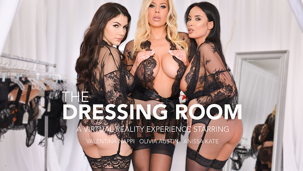 Click here to play Anissa Kate, Olivia Austin, and Valentina Nappi fuck in lingerie VR porn