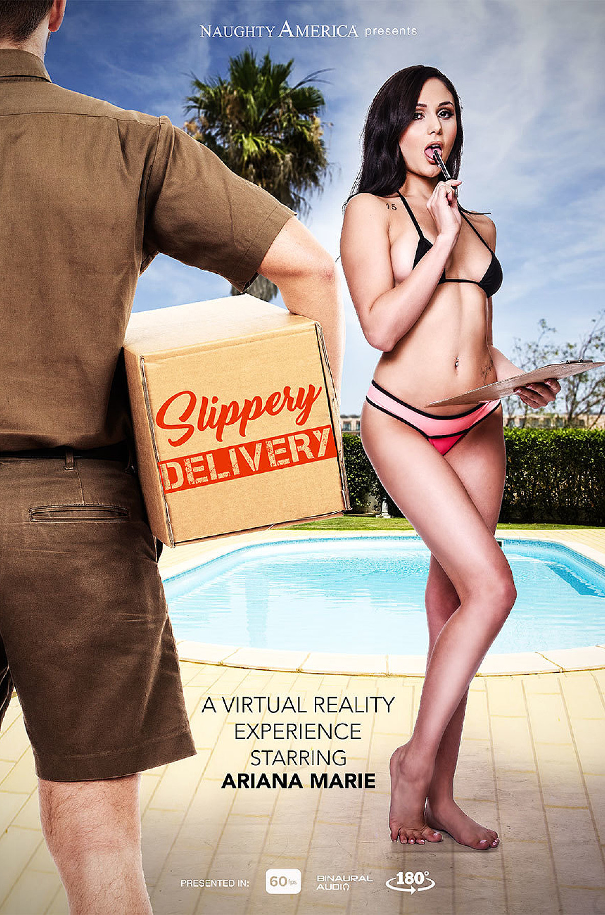 Watch Ariana Marie and Charles Dera VR video in Naughty America