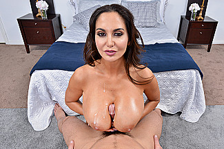 Ava Addams fucking in the bedroom with her tits vr porn - Sex Position 4