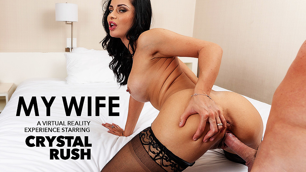 Click here to play Crystal Rush Fucks Her Boyfriend  VR porn