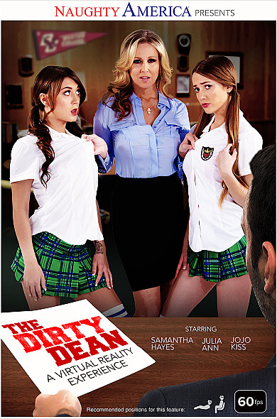 Teacher Julia needs the school dean to bang the bad students Samantha and JoJo!