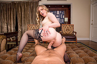 Natural blonde Karla Kush is Back and Bangin' You in VR porn - Sex Position 3