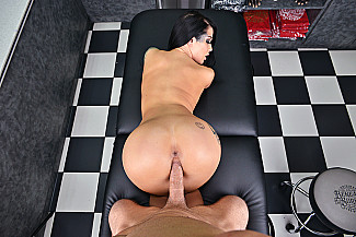 Katrina Jade fucking in the tattoo parlor vr porn - Sex Position 3