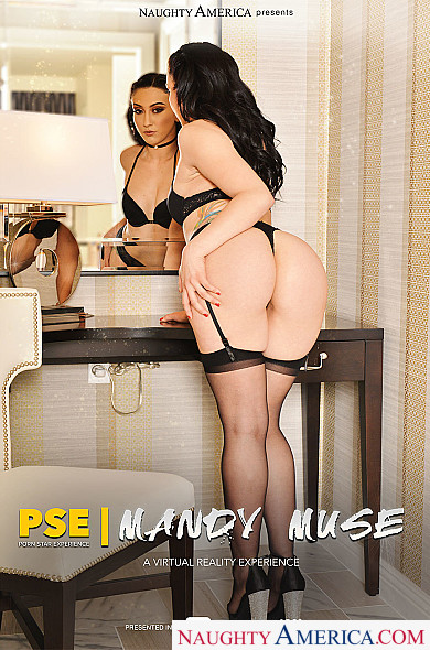 Watch Mandy Muse enjoy some Ass smacking and Black Hair!