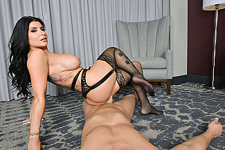 Romi Rain fucking in the hotel with her big tits vr porn - Sex Position 3