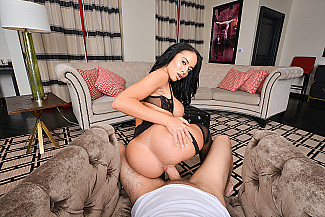 Victoria June fucking in the couch with her lingerie vr porn - Sex Position 2
