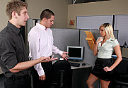 Lilly Kingston & Danny Wylde & David Loso in Naughty Office