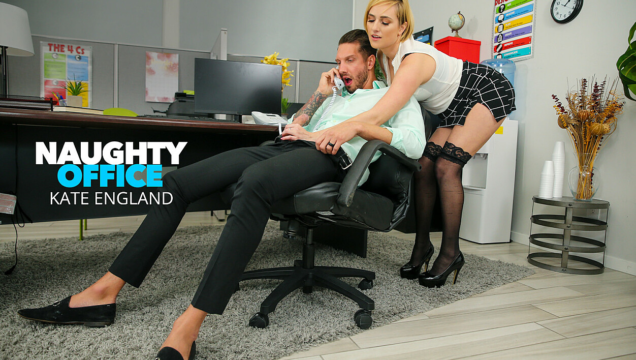 Kate England fucks at the office