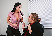 Luscious Lopez & Jerry in Naughty Office