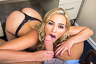 Mia Malkova fucking in the desk with her small tits vr porn - Sex Position 2