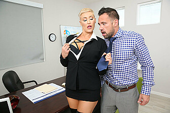 Horny Boss Ryan Keely Takes a Dirty Deed For a Misdeed - Sex Position 1