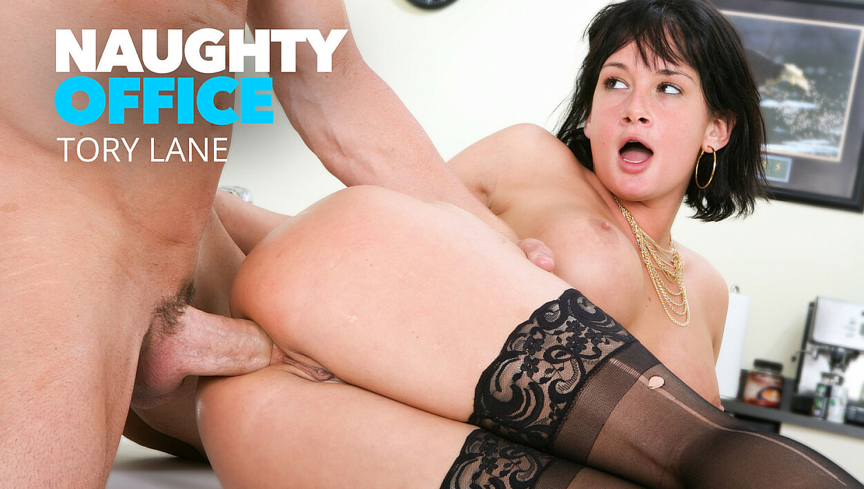 Tory Lane takes a huge cock in her ass