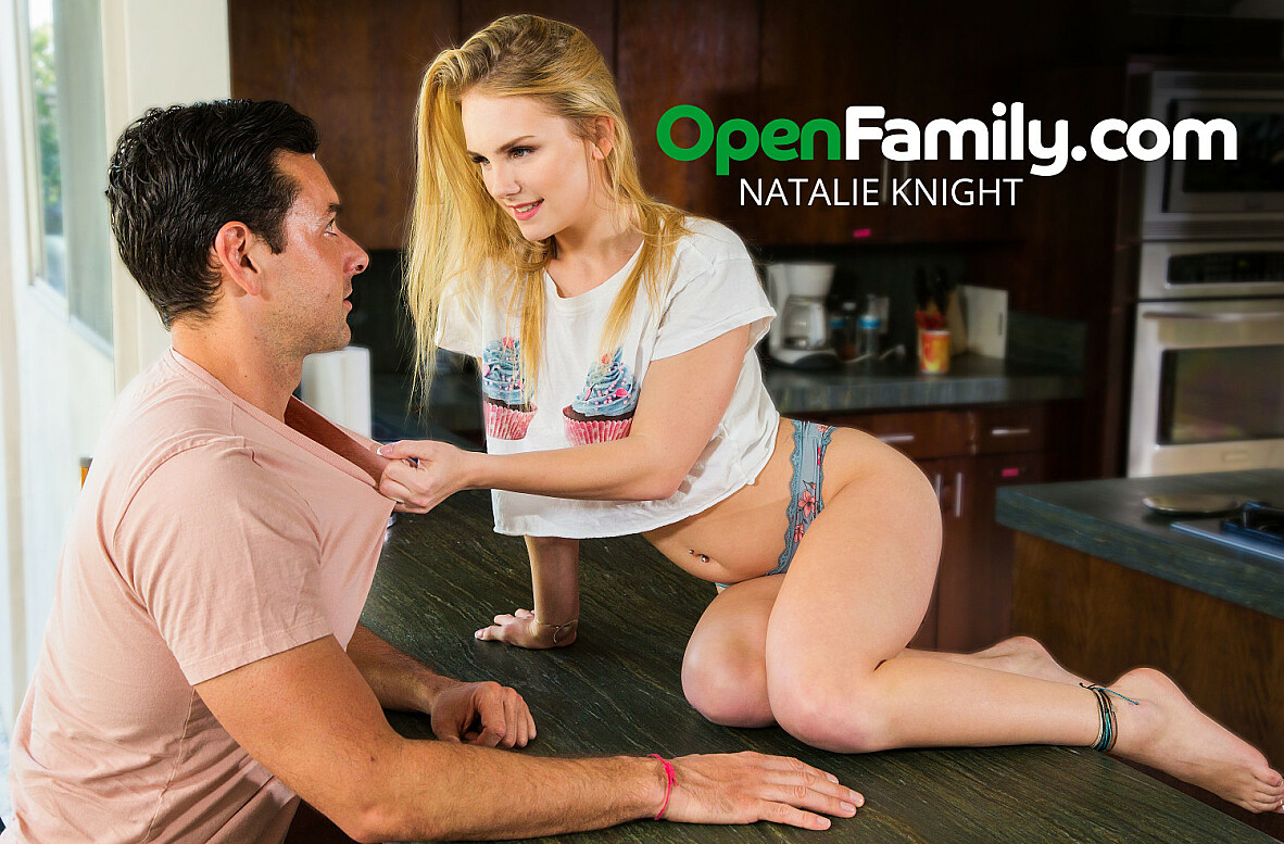 Watch Natalie Knight and Ryan Driller 4K video in Open Family