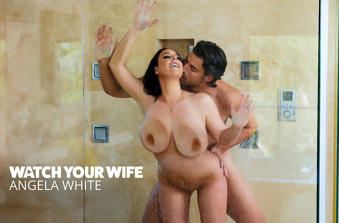 Watch Angela White and Jay Smooth 4K video in Watch Your Wife