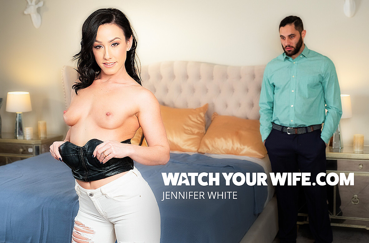 Watch Jennifer White and Damon Dice 4K video in Watch Your Wife