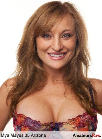 hot sexy girl Mya Mayes in amateur porn