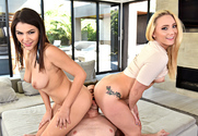 AJ Applegate & Valentina Nappi & Preston Parker in 2 Chicks Same Time