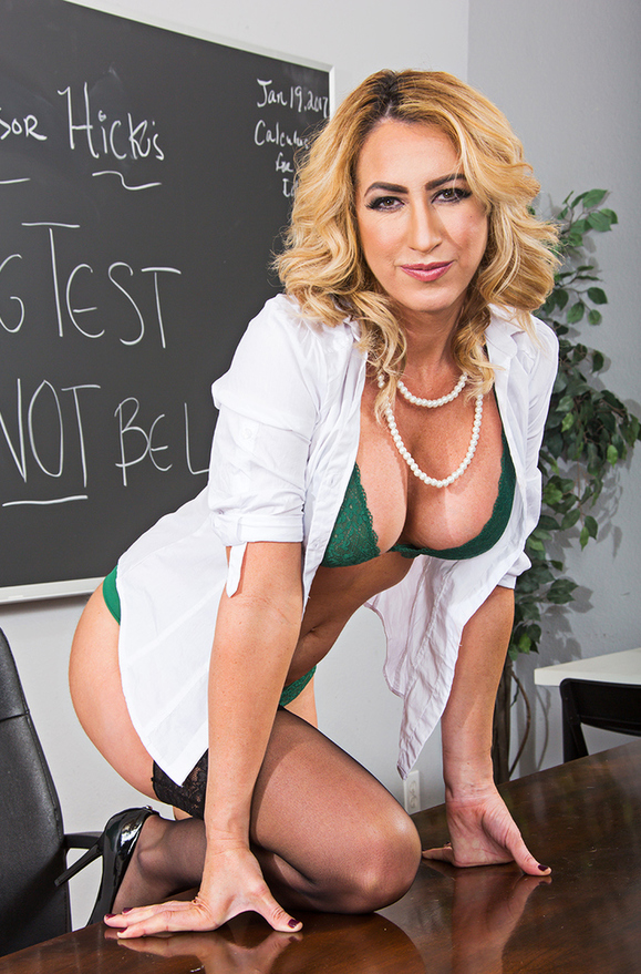 Janna Hicks - xxx pornstar in many Professor & Big Tits & Facial videos