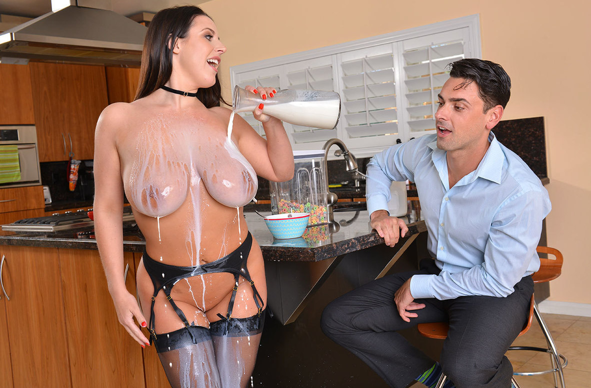 Watch Angela White and Ryan Driller 4K video in American Daydreams