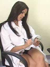 Doctor Porn Video with Blow Job and Brunette scenes