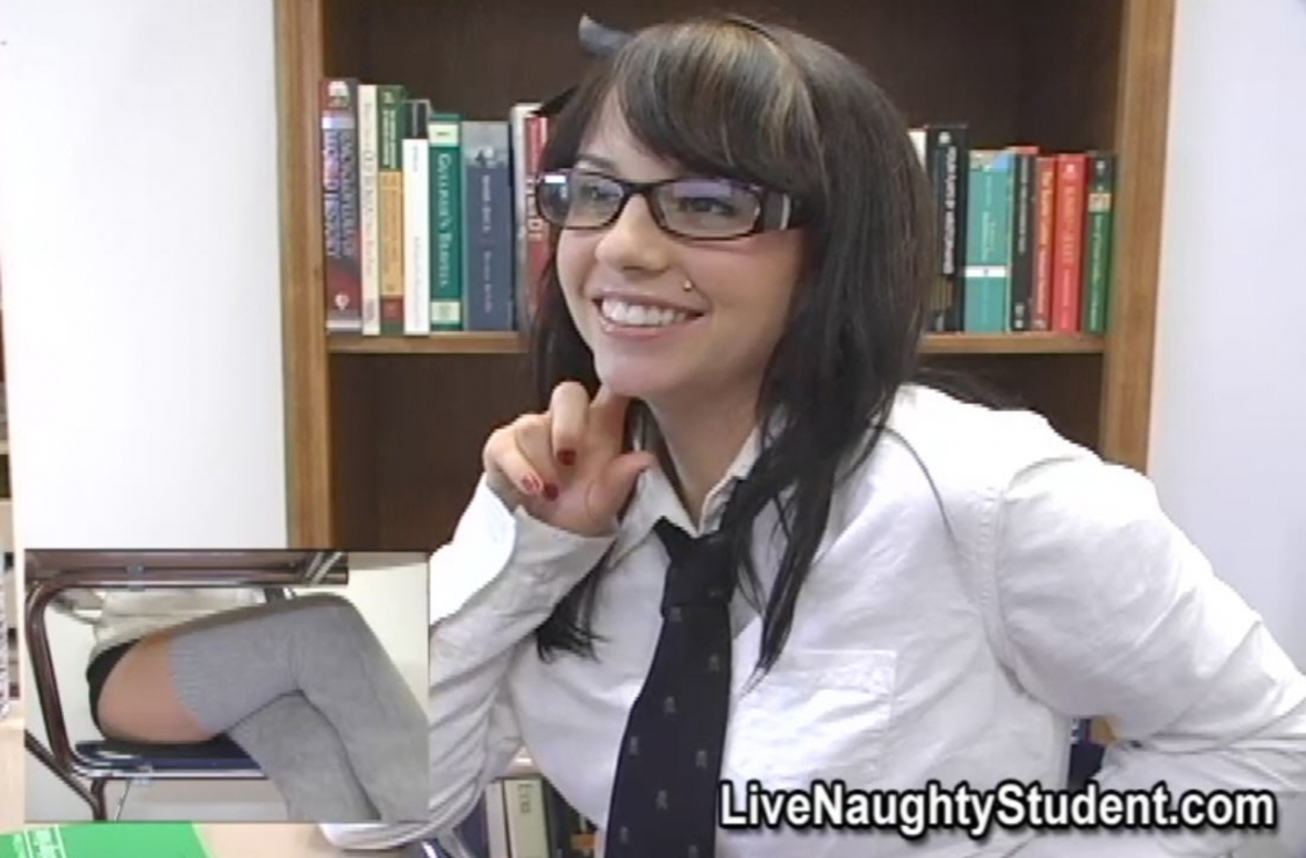 Watch Lindy Lane video in Live Naughty Student