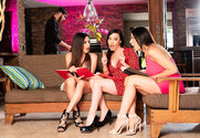 Ariella Ferrera & Dana DeArmond & Reagan Foxx & Logan Long in My Friend's Hot Mom