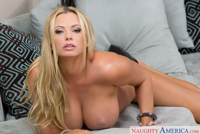 Friend's mom Briana Banks fucking in the den with her tits - Sex Position 1