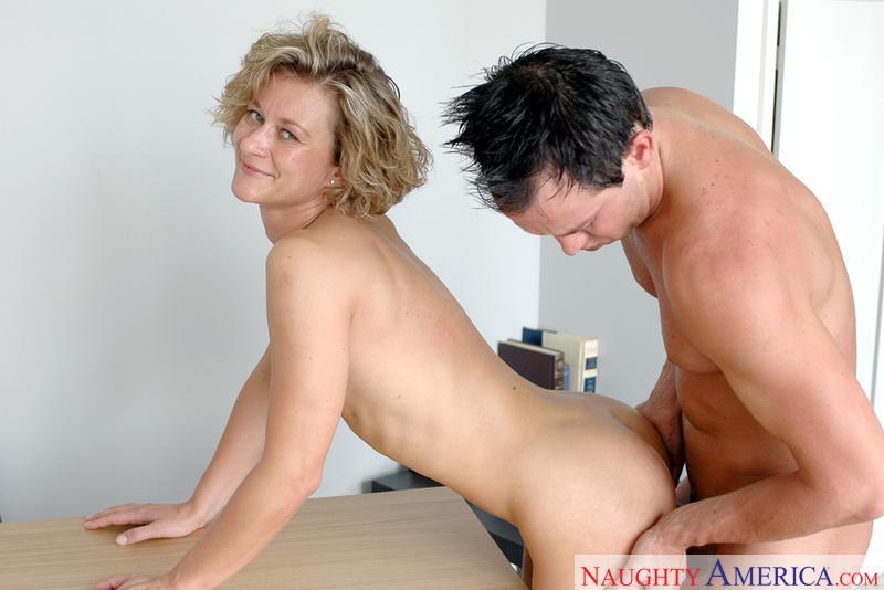Bianca mature teacher