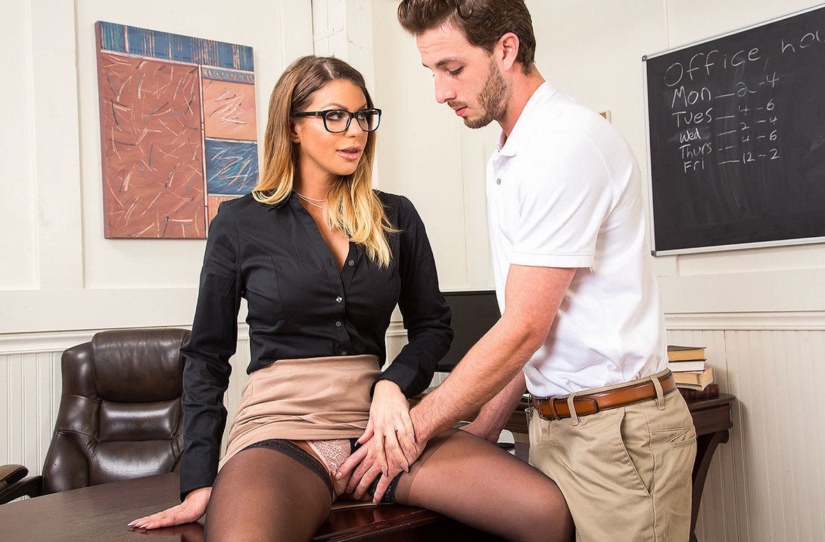 Watch Brooklyn Chase and Lucas Frost 4K video in My First Sex Teacher