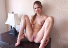 Jillian Janson fucking in the chair with her natural tits - Sex Position 3