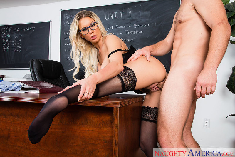 Kenzie Taylor fucking in the classroom with her tits - Sex Position 2