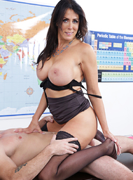 Professor & Teacher Porn Video with American and Ass smacking scenes