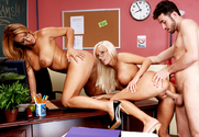 Trina Michaels & Lachelle Marie & James Deen in My First Sex Teacher