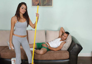 Daisy Marie & Vincent Vega in My Naughty Latin Maid