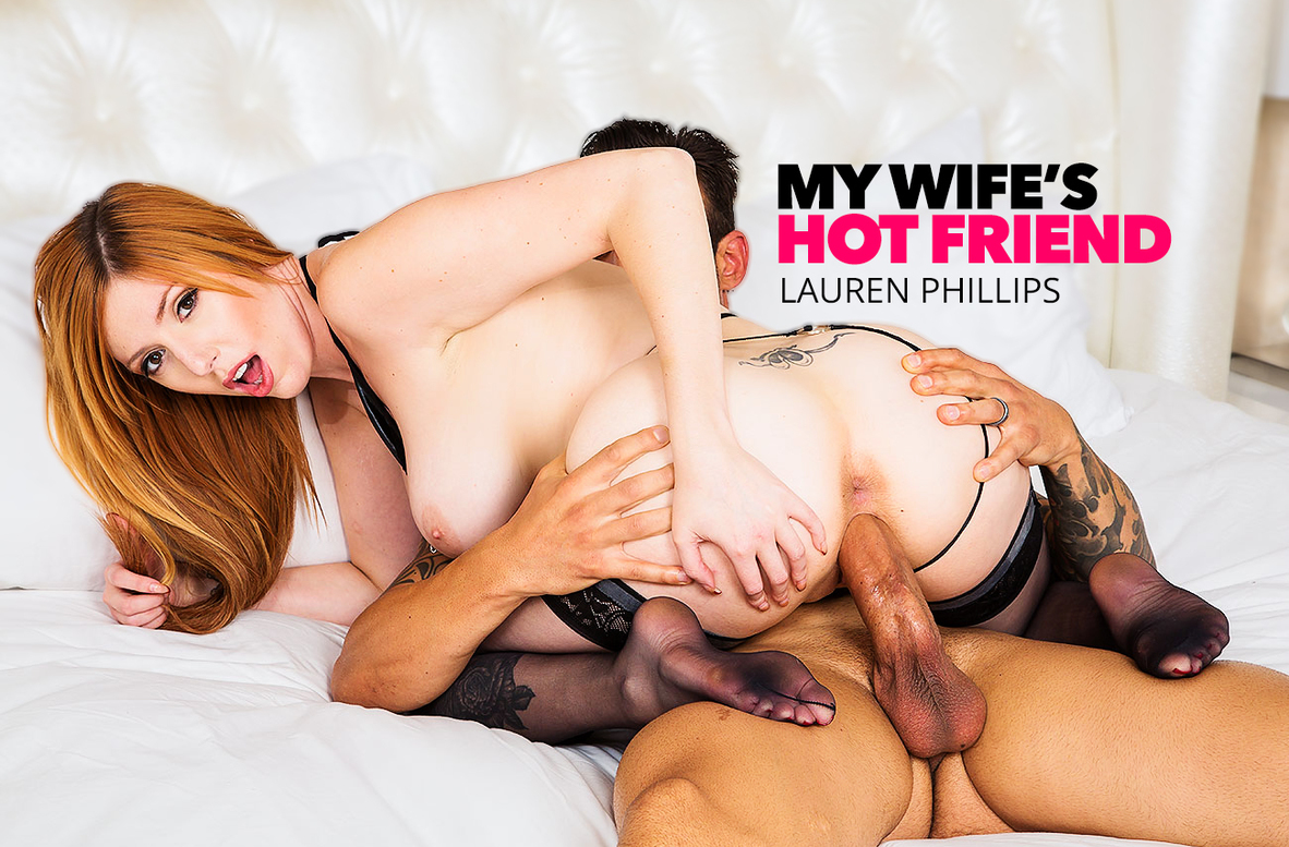Watch Lauren Phillips and Alex Legend 4K video in My Wife's Hot Friend
