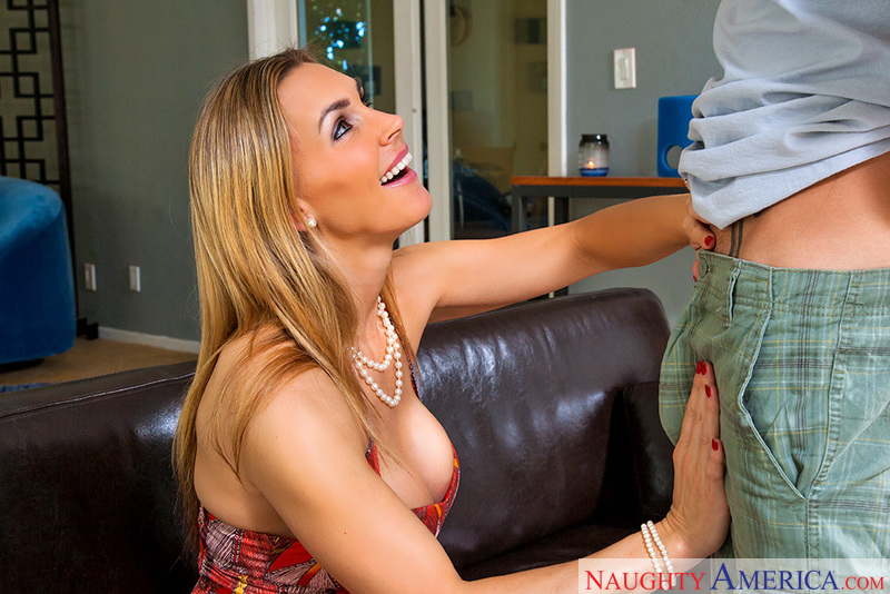 Tanya Tate fucking in the couch with her medium ass - Sex Position 2
