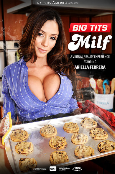 Ariella Ferrera fucking in the chair with her tits vr porn