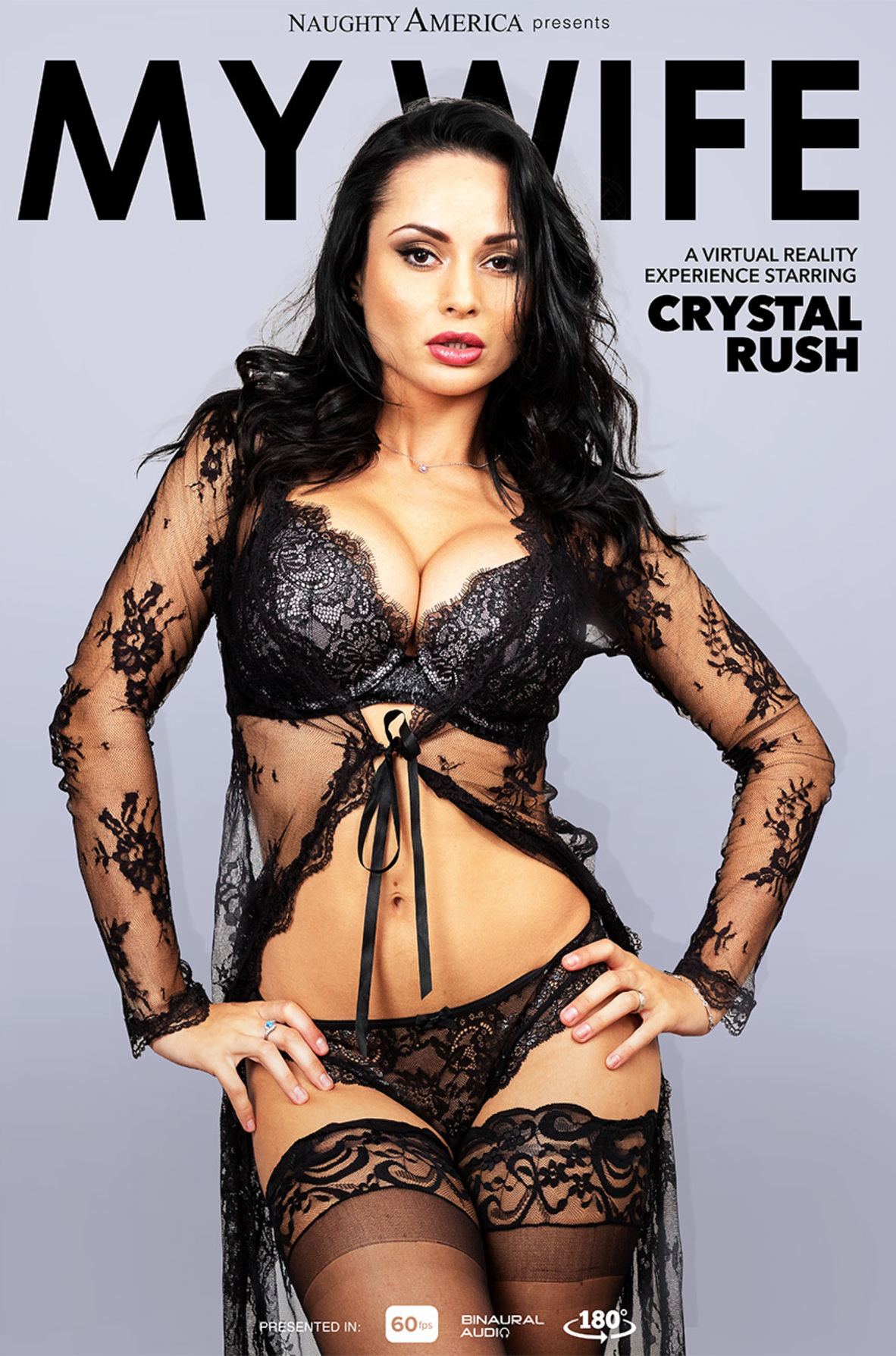 Watch Crystal Rush and Brad Sterling VR video in Naughty America