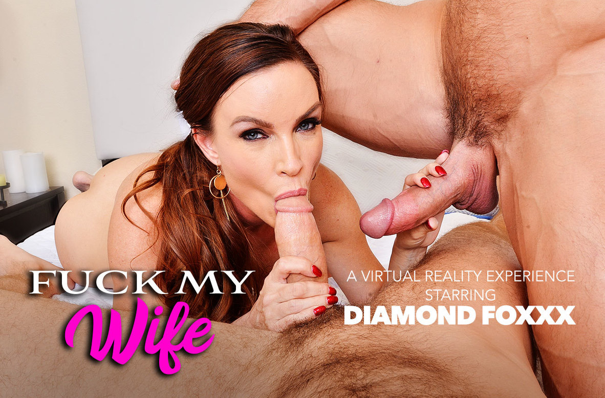 Watch Diamond Foxxx, Chad White and Johnny Castle VR video in Naughty America