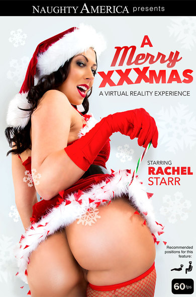 It's Merry Fucking Christmas with Rachel Starr and her delicious big tits!