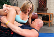 Brandi Love & Christian in Naughty Athletics