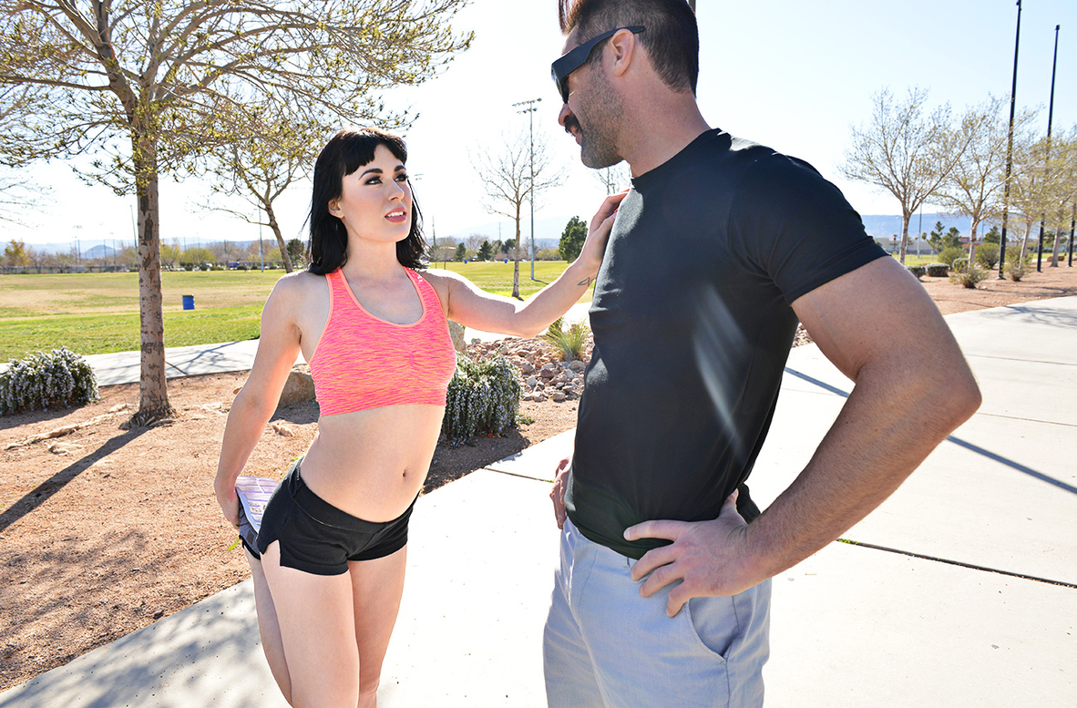 Watch Olive Glass and Charles Dera 4K video in Naughty Athletics