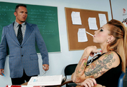 Scarlett Pain & Marcus London in Naughty Bookworms